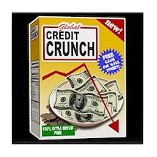 Credit Crunch Tile Coaster