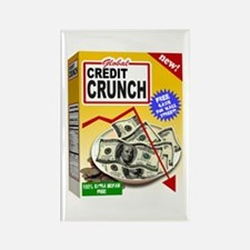 Credit Crunch Rectangle Magnet