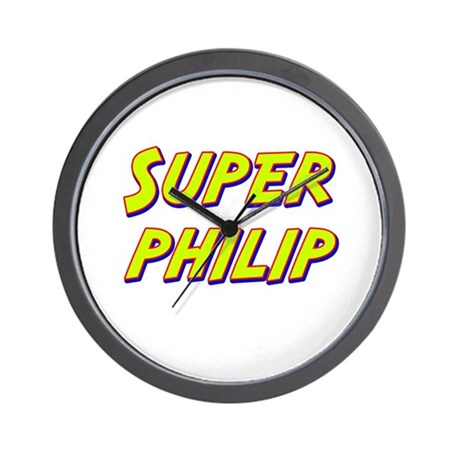 Super philip Wall Clock