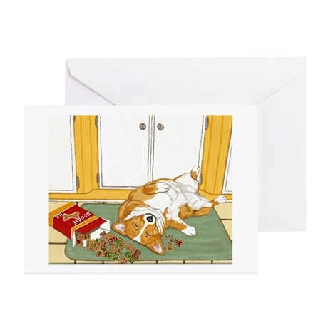 Stick a fork in me i'm done! Greeting Cards (Pk of