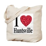 I Love Huntsville Tote Bag