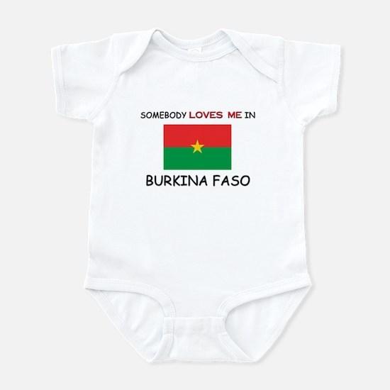 Somebody Loves Me In BURKINA FASO Infant Bodysuit