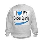 Cocker Spaniel Kids Sweatshirt