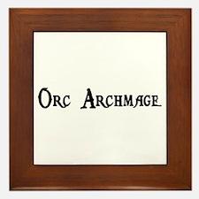 Orc Archmage Framed Tile