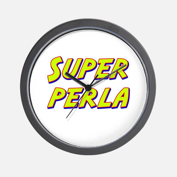 Super perla Wall Clock