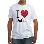 I Love Dothan Fitted T-Shirt