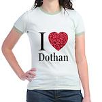 I Love Dothan Jr. Ringer T-Shirt