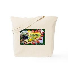 A Bountiful Thanksgiving Tote Bag