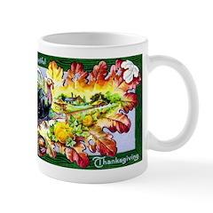 A Bountiful Thanksgiving Mug