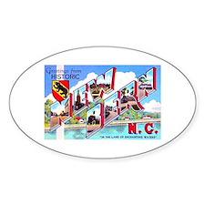 New Bern North Carolina Oval Bumper Stickers