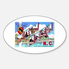 New Bern North Carolina Oval Decal