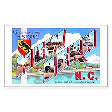 New Bern North Carolina Rectangle Bumper Stickers