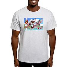 New Bern North Carolina (Front) T-Shirt