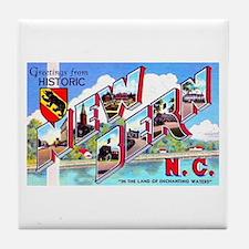 New Bern North Carolina Tile Coaster