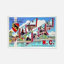New Bern North Carolina Rectangle Magnet