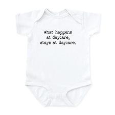 What Happens At Daycare Infant Bodysuit