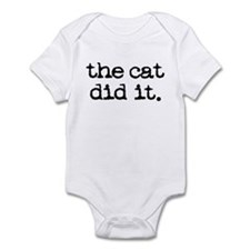 The Cat Did It Onesie