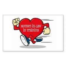 Mother-In-Law In Training Rectangle Sticker 10pk)