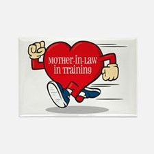 Mother-In-Law In TraininRectangle Magnet (10 pack)
