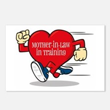 Mother-In-Law In Training Postcards (Package of 8)