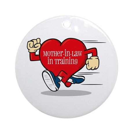 Mother-In-Law In Training Ornament (Round)