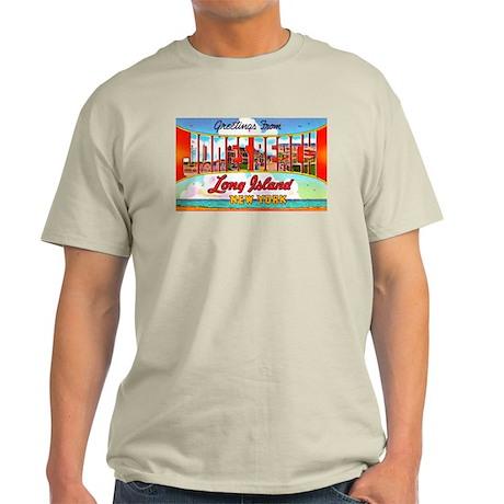 Jones Beach Long Island (Front) Light T-Shirt