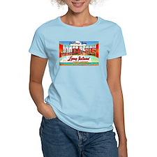 Jones Beach Long Island (Front) T-Shirt