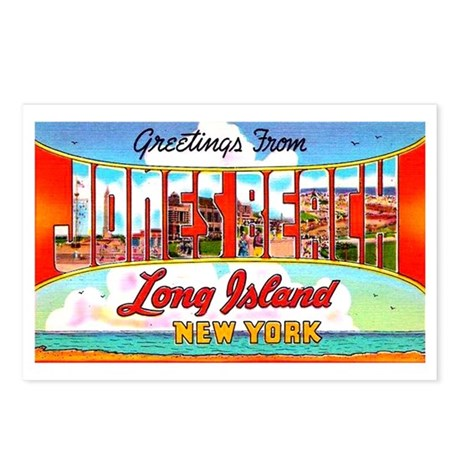 Jones Beach Long Island Postcards (Package of 8)