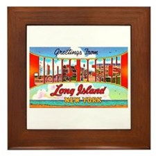 Jones Beach Long Island Framed Tile
