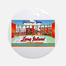 Jones Beach Long Island Ornament (Round)