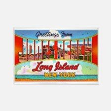 Jones Beach Long Island Rectangle Magnet