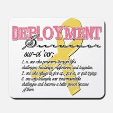 Deployment Survivor - Definit Mousepad