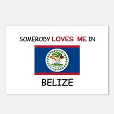 Somebody Loves Me In BELIZE Postcards (Package of