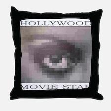 HOLLYWOOD MOVIE STAR Pixelism Throw Pillow
