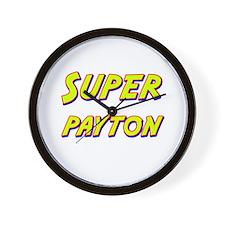 Super payton Wall Clock