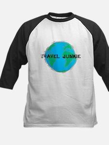 Travel Junkie Kids Baseball Jersey