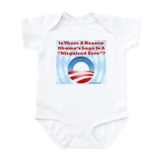 """""""Disguised Zero"""" Infant Bodysuit"""