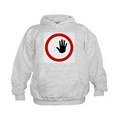 Restricted Access Sign Hoodie