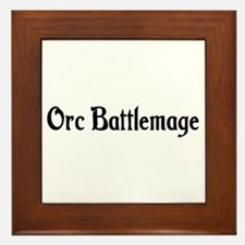 Orc Battlemage Framed Tile