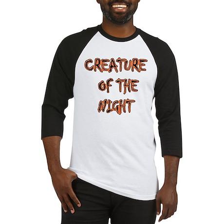 Night Creature Baseball Jersey