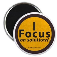 Focus on Solutions Magnet
