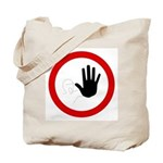 Restricted Access Sign - Tote Bag