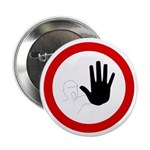 "Restricted Access Sign - 2.25"" Button (10 pack)"