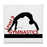 Gymnastics Tile Coaster - Level 9