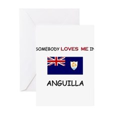 Somebody Loves Me In ANGUILLA Greeting Card