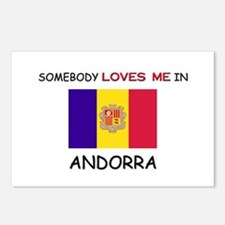 Somebody Loves Me In ANDORRA Postcards (Package of