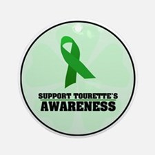 TS Awareness Ornament (Round)