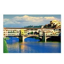 Cool Ponte vecchio Postcards (Package of 8)