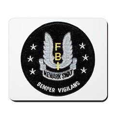 FBI Newark SWAT Mousepad