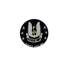 FBI Newark SWAT Mini Button (100 pack)